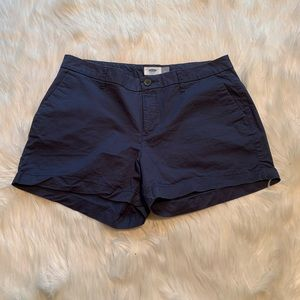 Old Navy Chino Short Blue Darkest Hour
